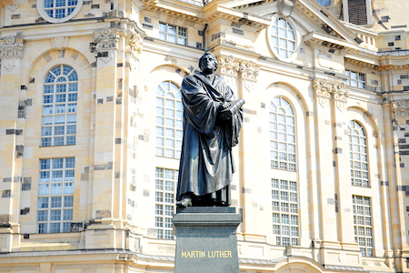 Luther Monument in Dresden