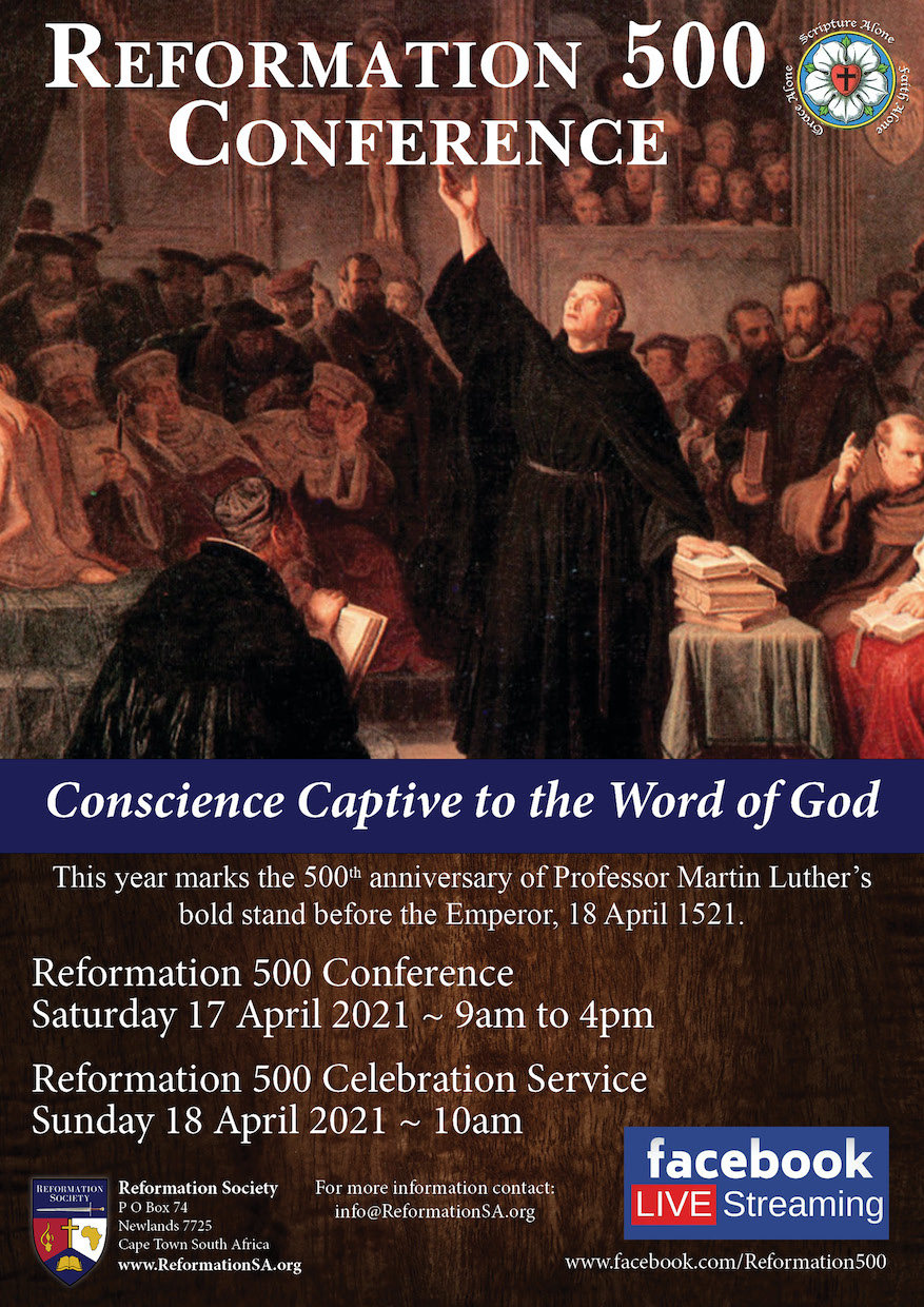 Reformation 500 Conference poster