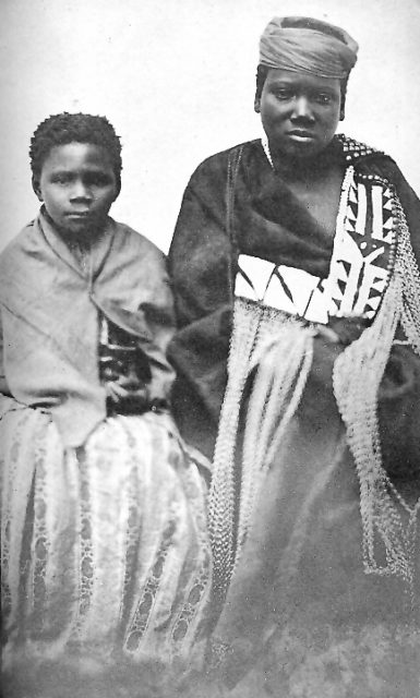 Nongqawuse right with fellow prophetess Nonkosi